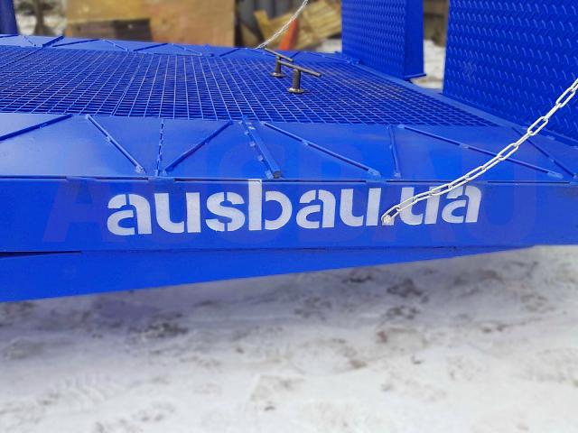 Гідравлічні мобільні рампи AUSBAU