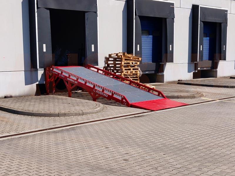 Dock access ramp AUSBAU-DG (type