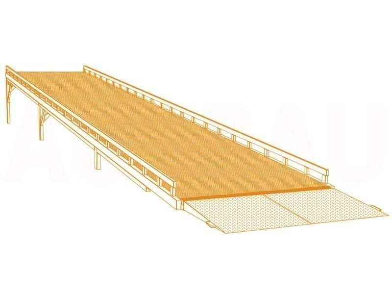 Navozna rampa AUSBAU-DG (model «skladišče – tla»)