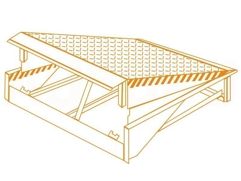 Гидравлическая уравнительная платформа (доклевеллер) AUSBAU-DL