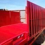 Stationary loading dock ramps AUSBAU-STB