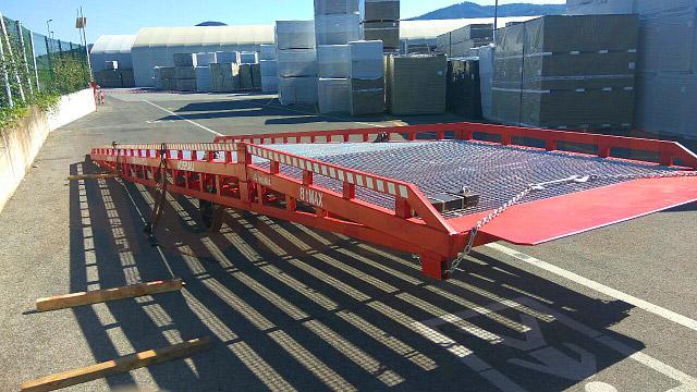 Knauf Insulation bought the AUSBAU mobile ramp