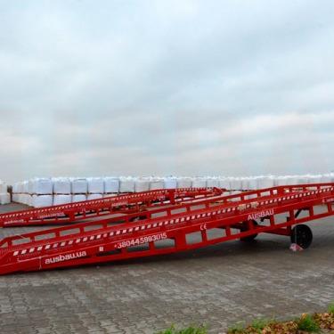 Sale of the mobile ramp AUSBAU PRO-8 to Croatia