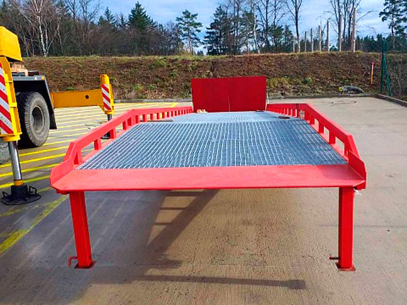 Mobile ramps AUSBAU PRO and SPCL for a client in the Czech Republic