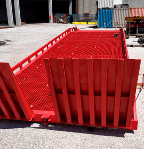 Ramp as per customer order with increased load to Italy