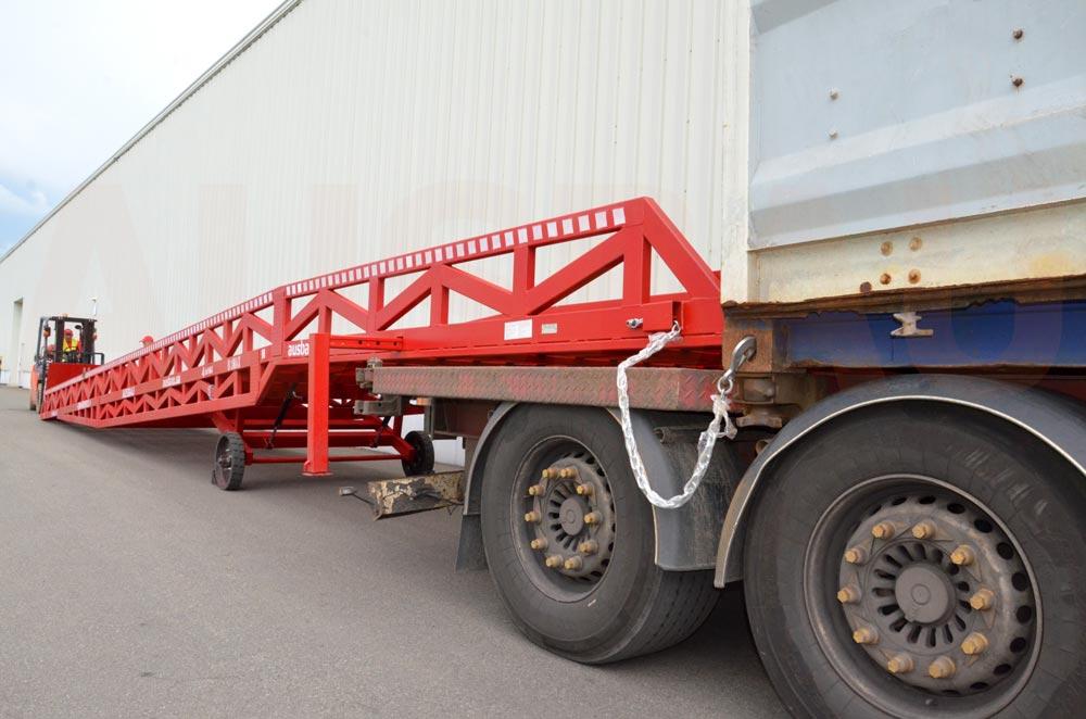 Den længste AUSBAU-rampe til Coca-Cola-firmaet