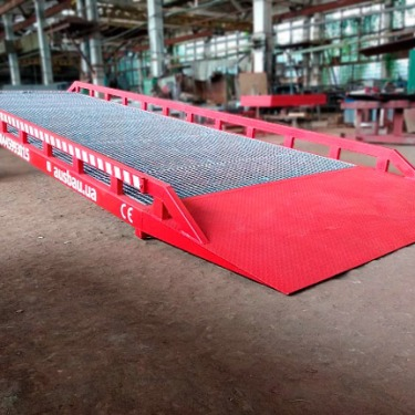 Fixed ramp AUSBAU for warehouse in Germany