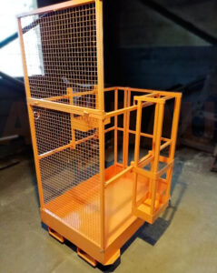 33 forklift access platforms AUSBAU-WP03 for a company from Ukraine