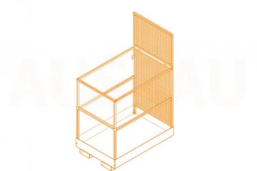 Forklift safety cage AUSBAU-WP