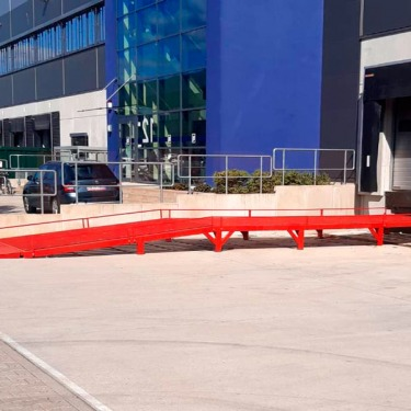 Ramp for light commercial vehicles AUSBAU-VR for a German company