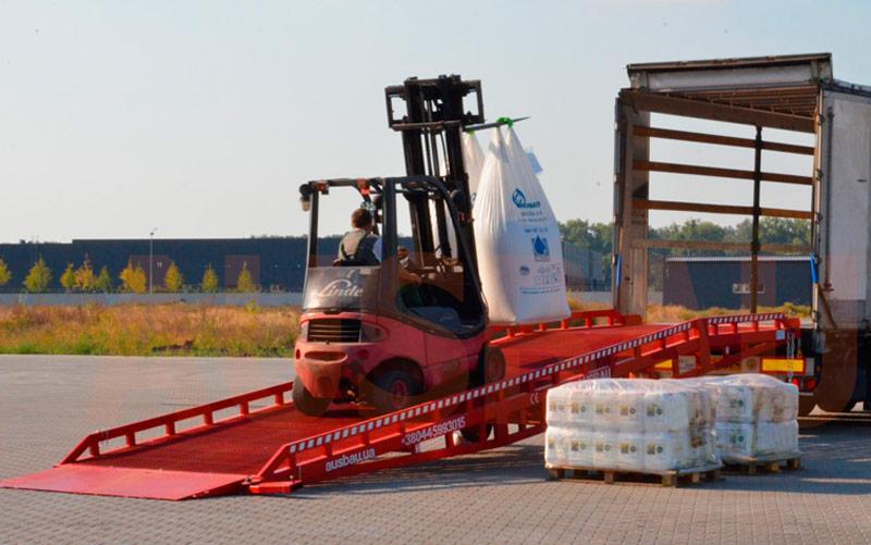 Mobile dock ramp AUSBAU