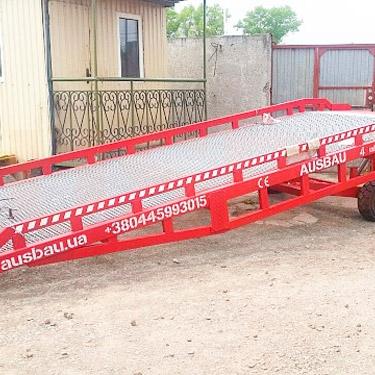 Mobile hüdrauliline dock ramp AUSBAU