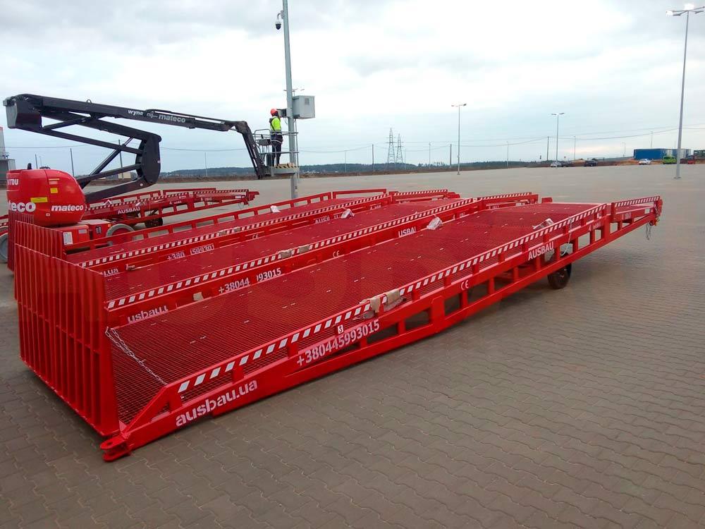Mobile rampa di carico AUSBAU