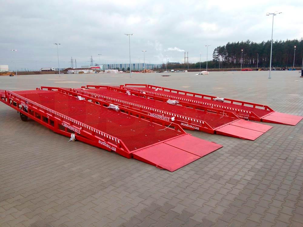 Mobile yard ramp AUSBAU