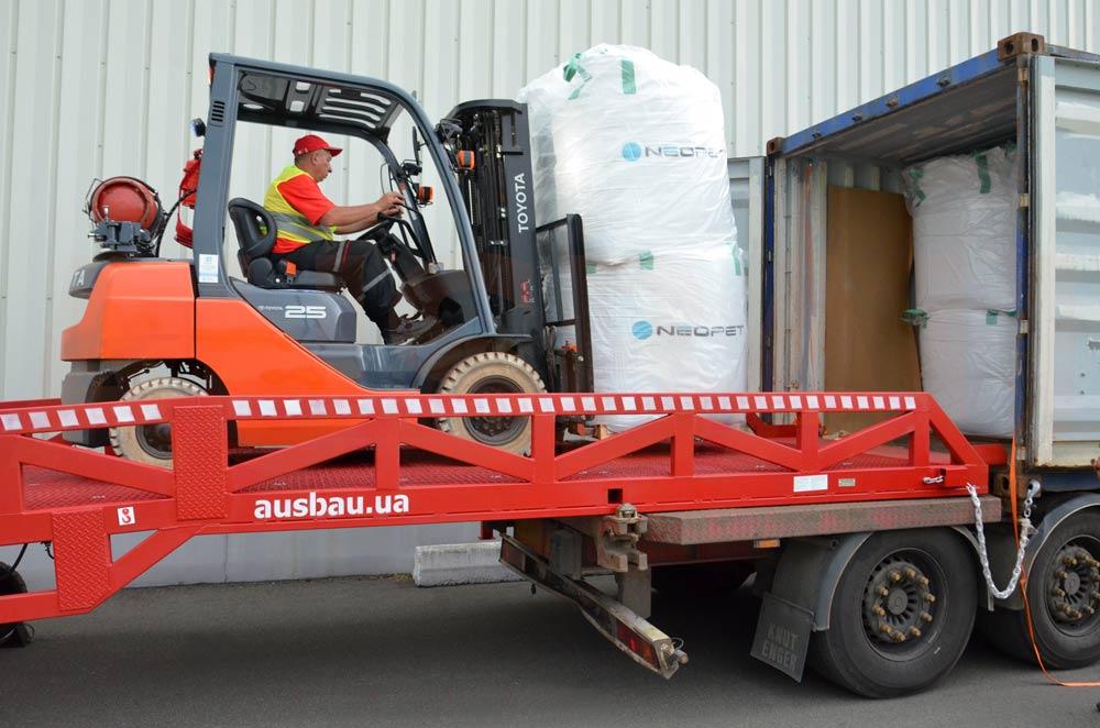 Rampa najazdowa do kontenera AUSBAU