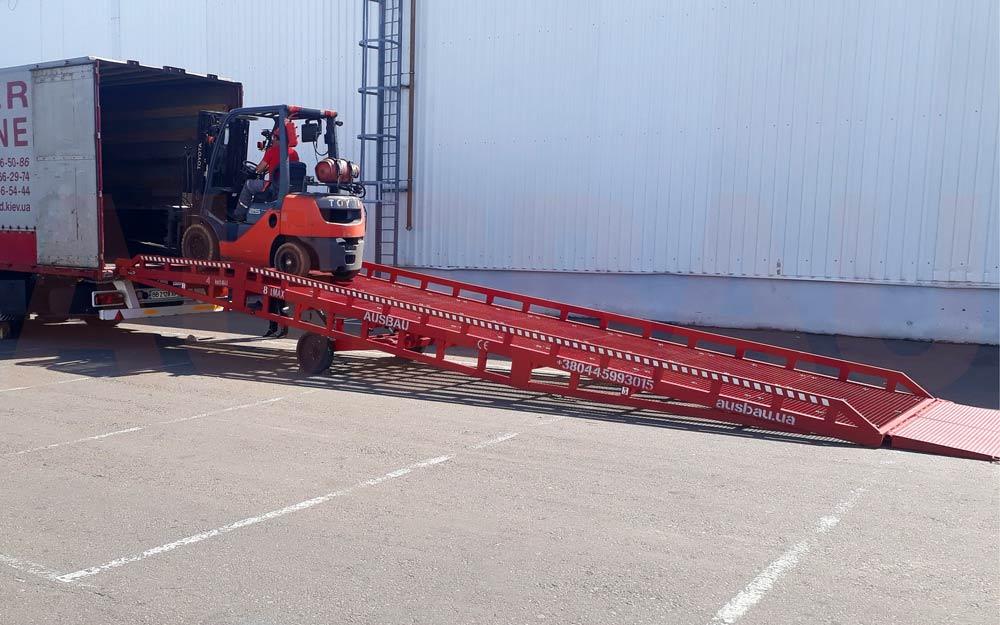 Used mobile ramps ausbau pro8 1