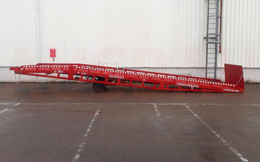 Used mobile ramps ausbau pro8 4