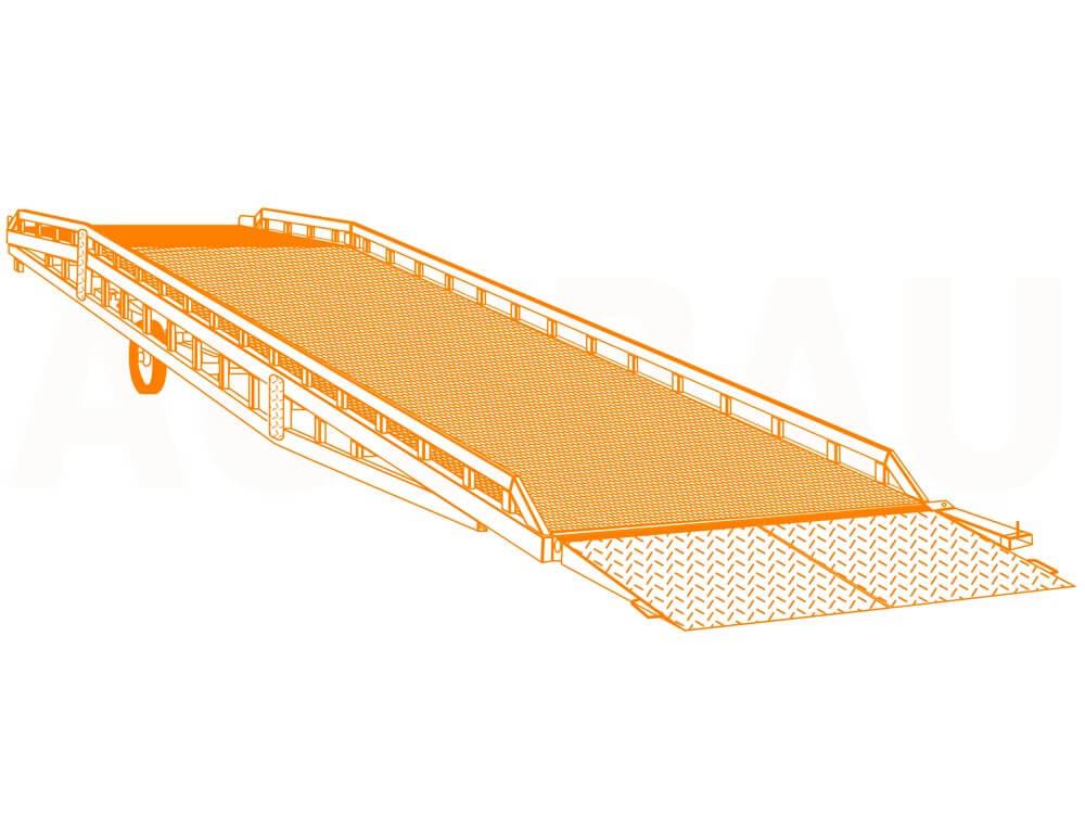 Mobilná nakladacia rampa AUSBAU