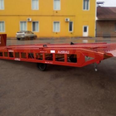 Delivery of a unique mobile loading ramp AUSBAU-LCV8 to Romania