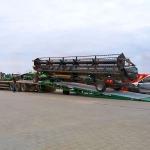 Mobiele laadbruggen voor volumineus en zwaar transport naar Polen